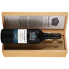 Buy Taylors Single Harvest Port 1966 Online at johnlewis.com