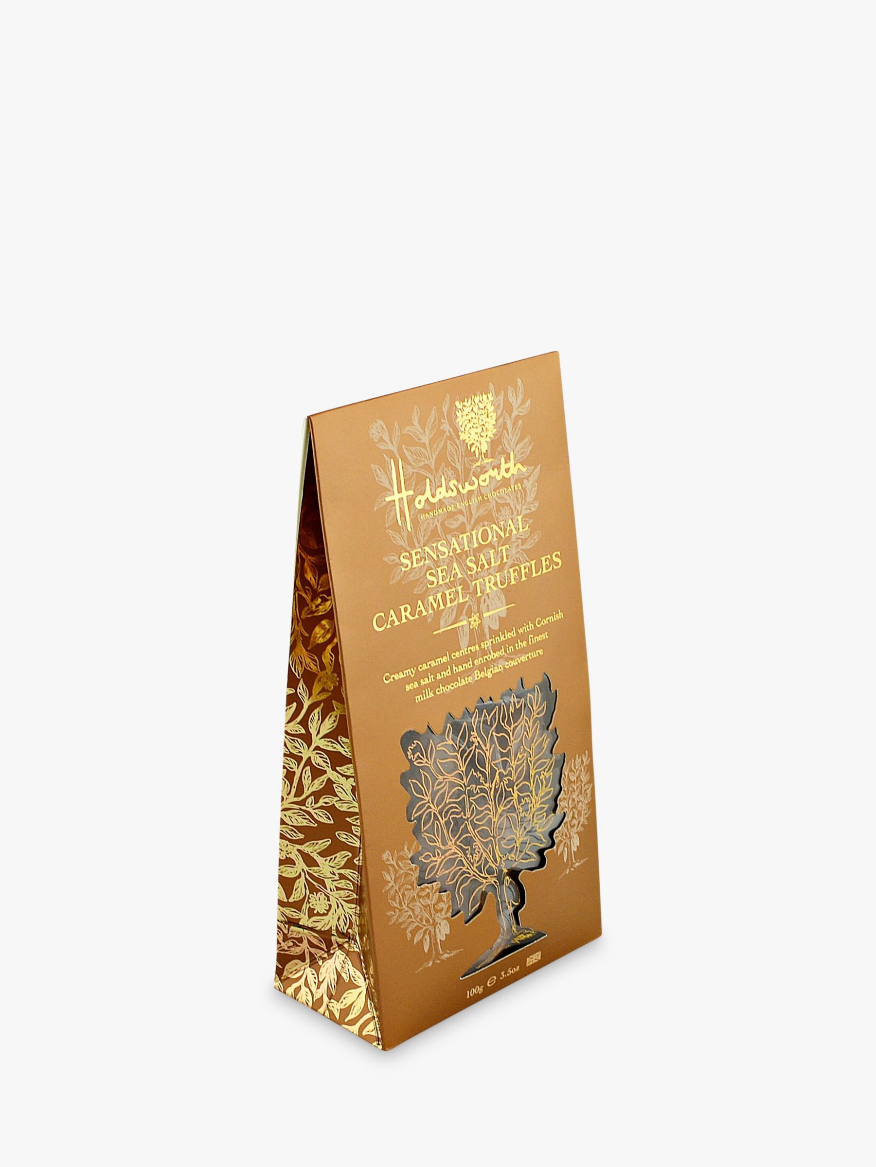 Holdsworth Holdsworth Sea Salt Caramel Truffle Treat Bag, 100g
