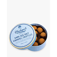 Buy Charbonnel et Walker Dark Sea Salt Caramel Truffle, 245g Online at johnlewis.com