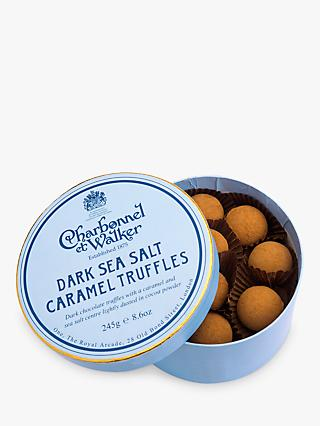 Charbonnel et Walker Dark Sea Salt Caramel Truffle, 245g