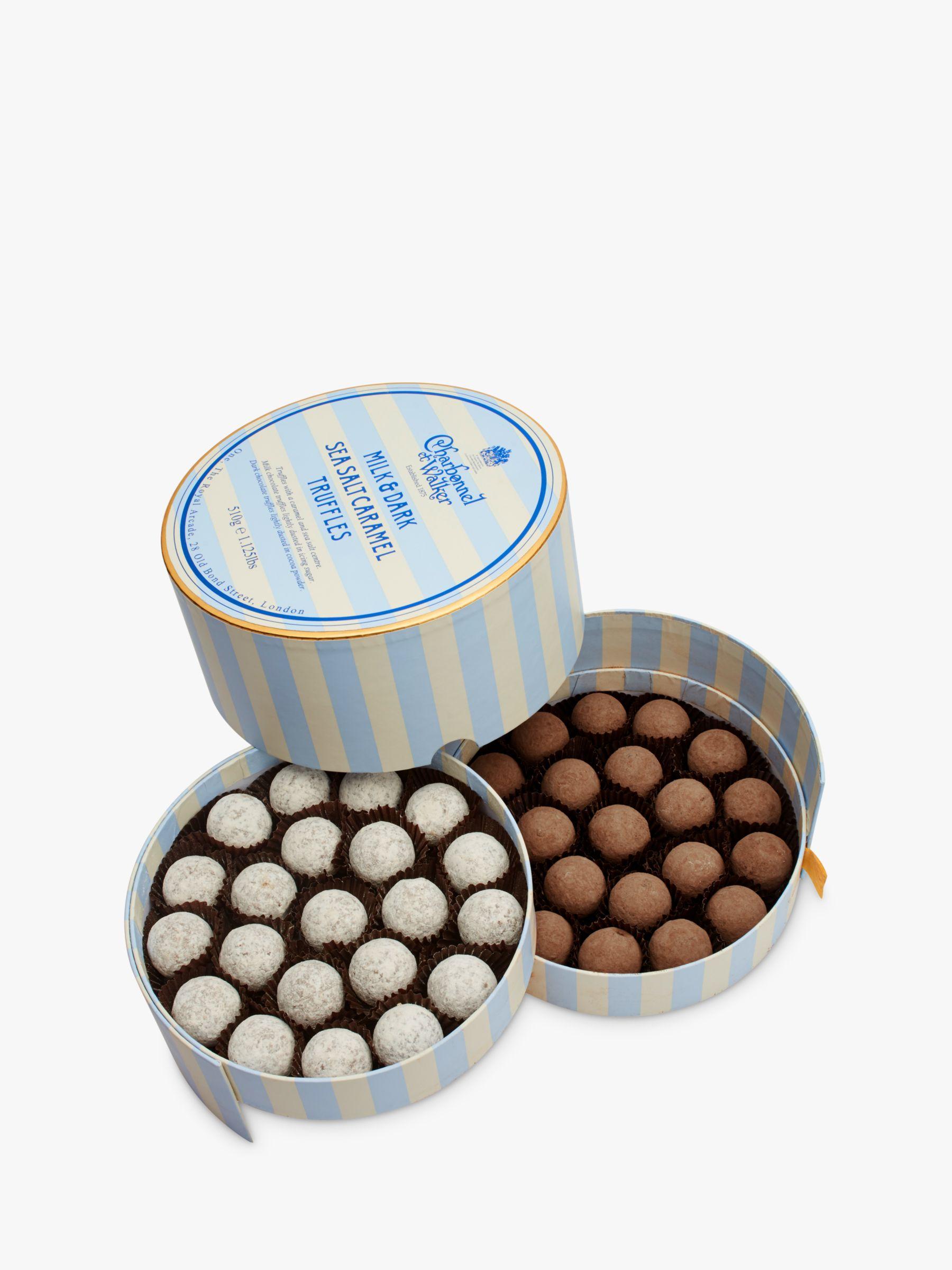 Charbonnel et Walker Charbonnel et Walker Milk & Dark Chocolate Sea Salt Caramel Truffles