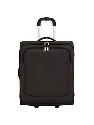 John Lewis & Partners Greenwich 2-Wheel 56cm Cabin Suitcase, Graphite