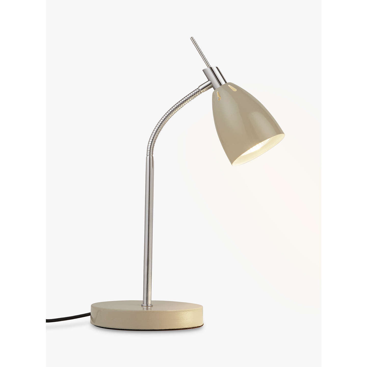 BuyJohn Lewis Neil LED Task Light, Taupe Online at johnlewis.com