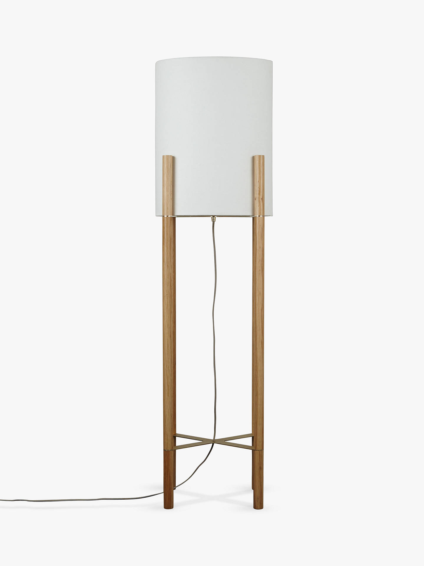 Design project by john lewis oval shade floor lamp oak at john lewis partners for John lewis home design service reviews