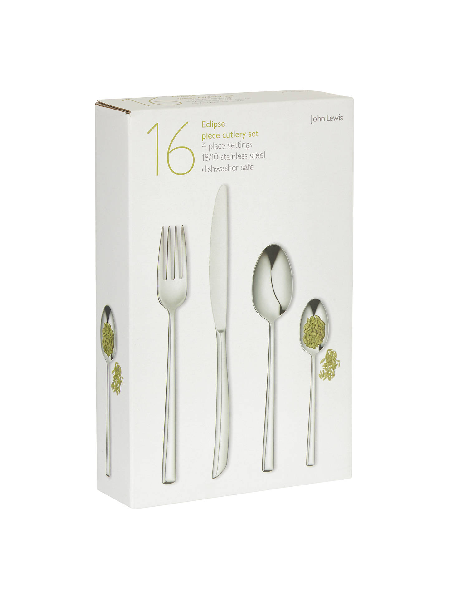 Buy John Lewis & Partners Eclipse Cutlery Set, 16 Piece Online at johnlewis.com