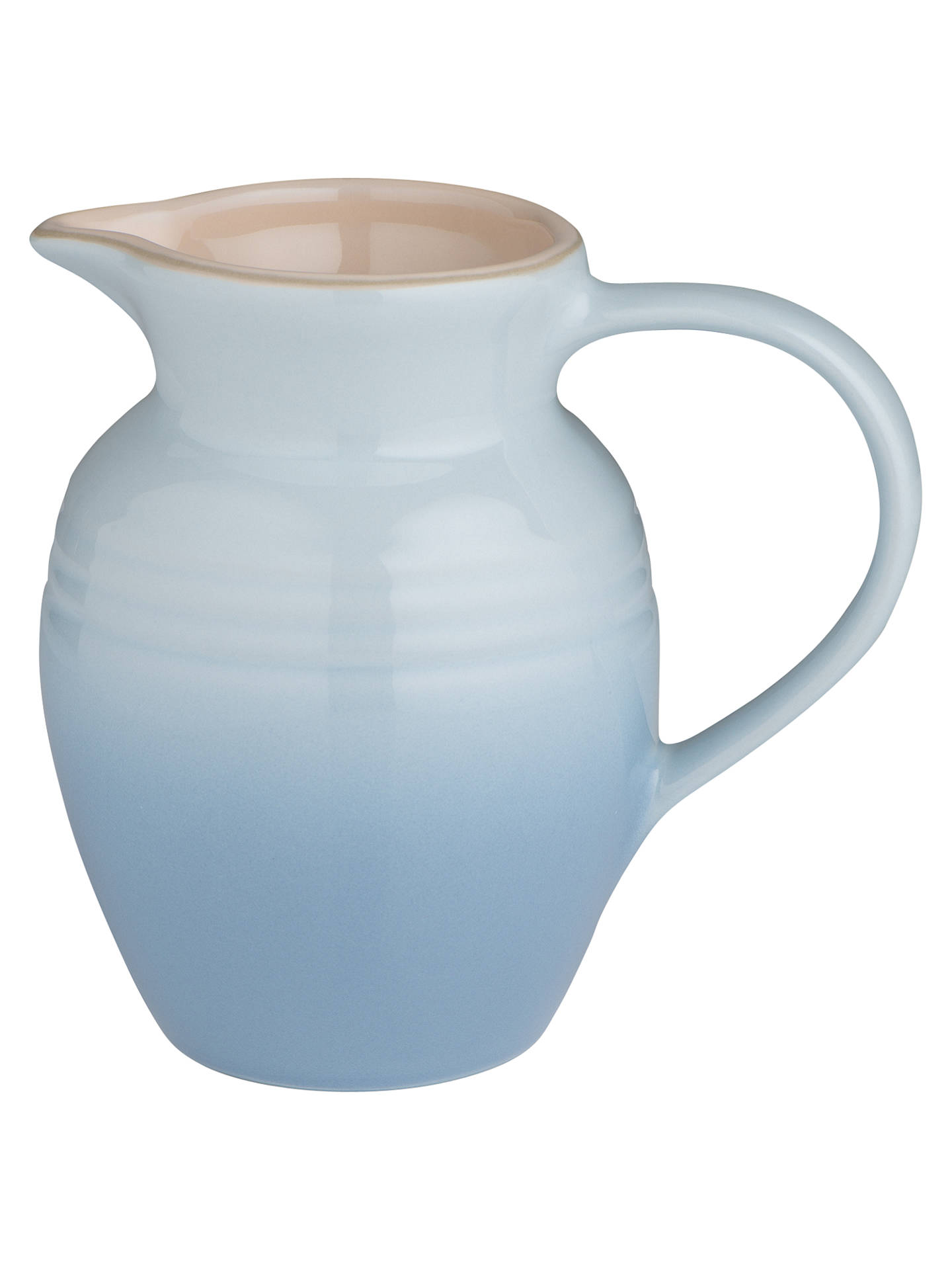 Buy Le Creuset Stoneware Breakfast Jug, 600ml, Coastal Blue Online at johnlewis.com