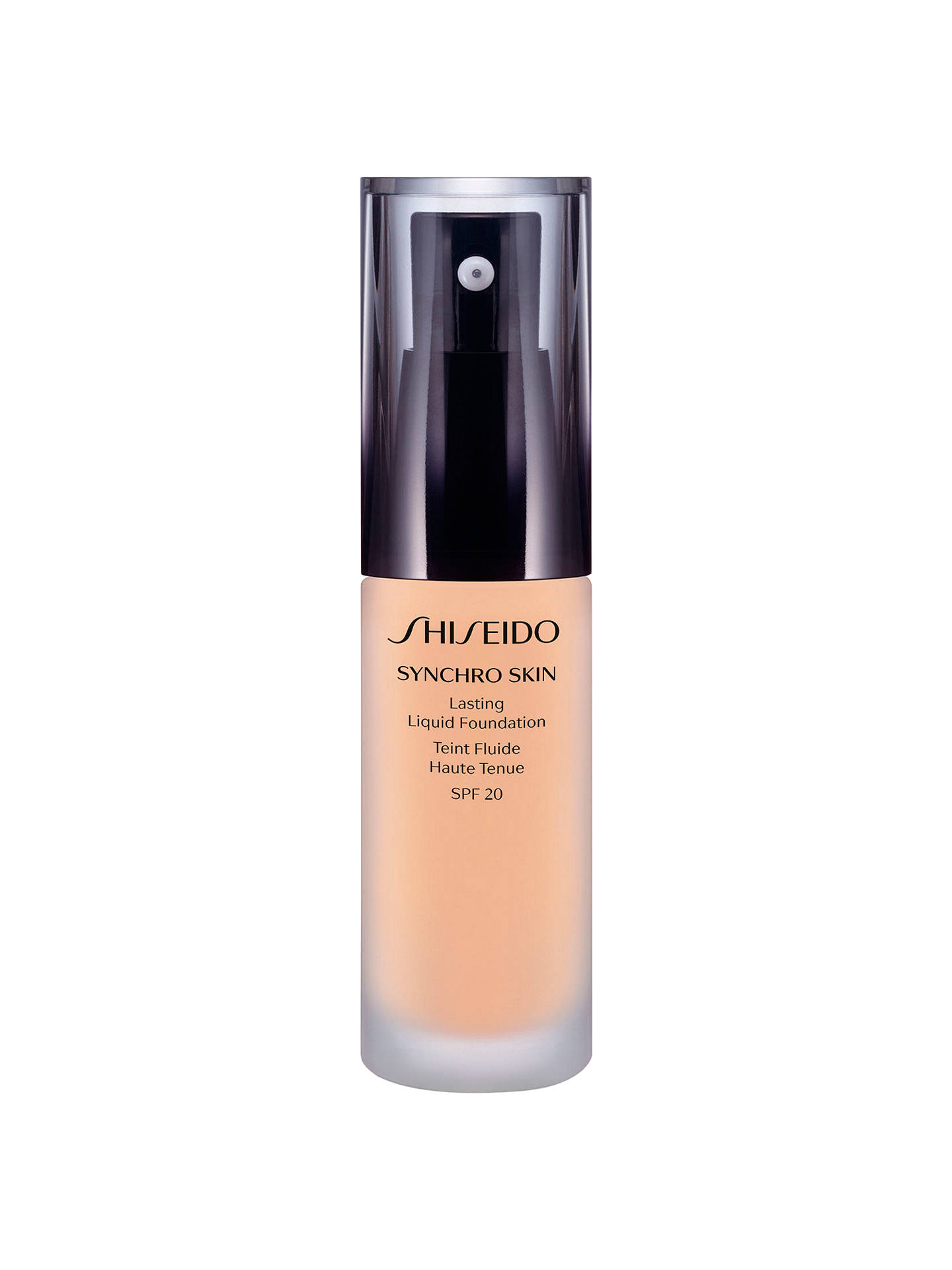 Buy Shiseido Synchro Skin Lasting Liquid Foundation SPF20, Neutral 1 Online at johnlewis.com