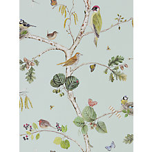 Buy Sanderson Woodland Chorus Wallpaper Online at johnlewis.com