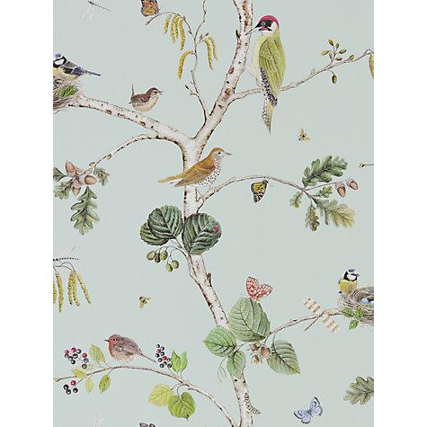 buy sanderson woodland chorus wallpaper john lewis. Black Bedroom Furniture Sets. Home Design Ideas