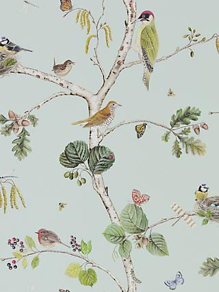 Sanderson Woodland Chorus Wallpaper