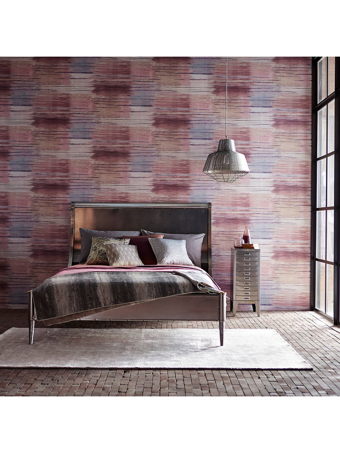 Buy Anthology Yuti Vinyl Wallpaper, Amethyst 111347 Online at johnlewis.com