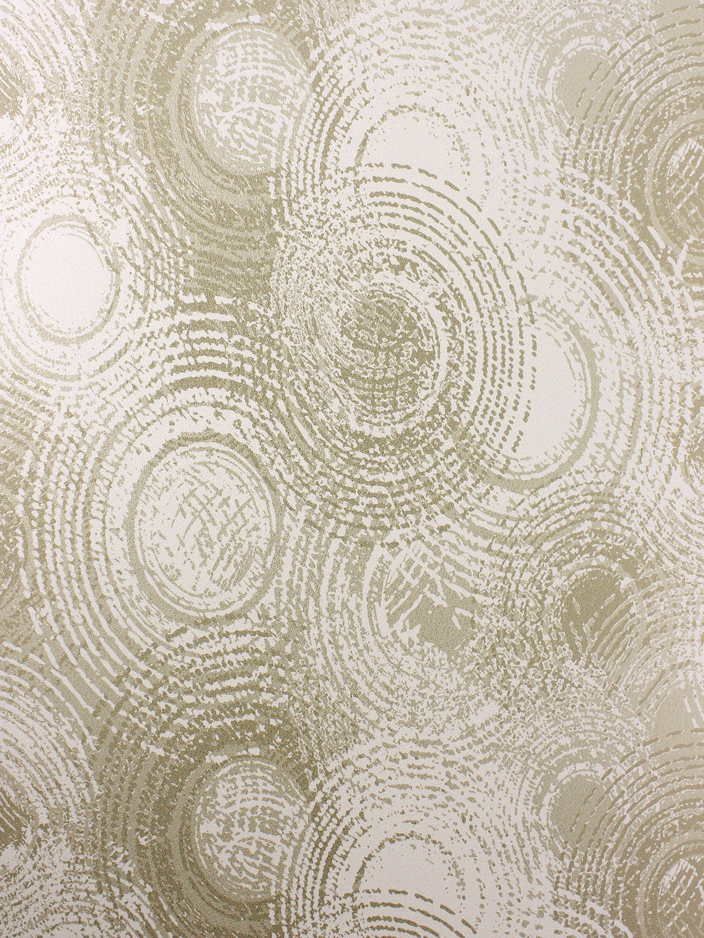 Buy Osborne & Little Orbital Wallpaper, Soft Gold W6905-01 Online at johnlewis.com