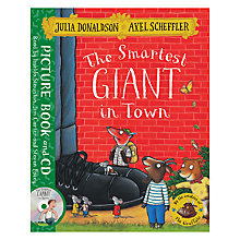 Buy The Smartest Giant in Town Book and CD Online at johnlewis.com