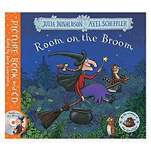 Buy Room on the Broom Book and CD Online at johnlewis.com