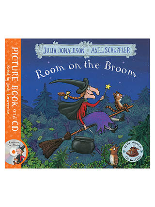 Buy Room on the Broom Children's Book and CD Online at johnlewis.com