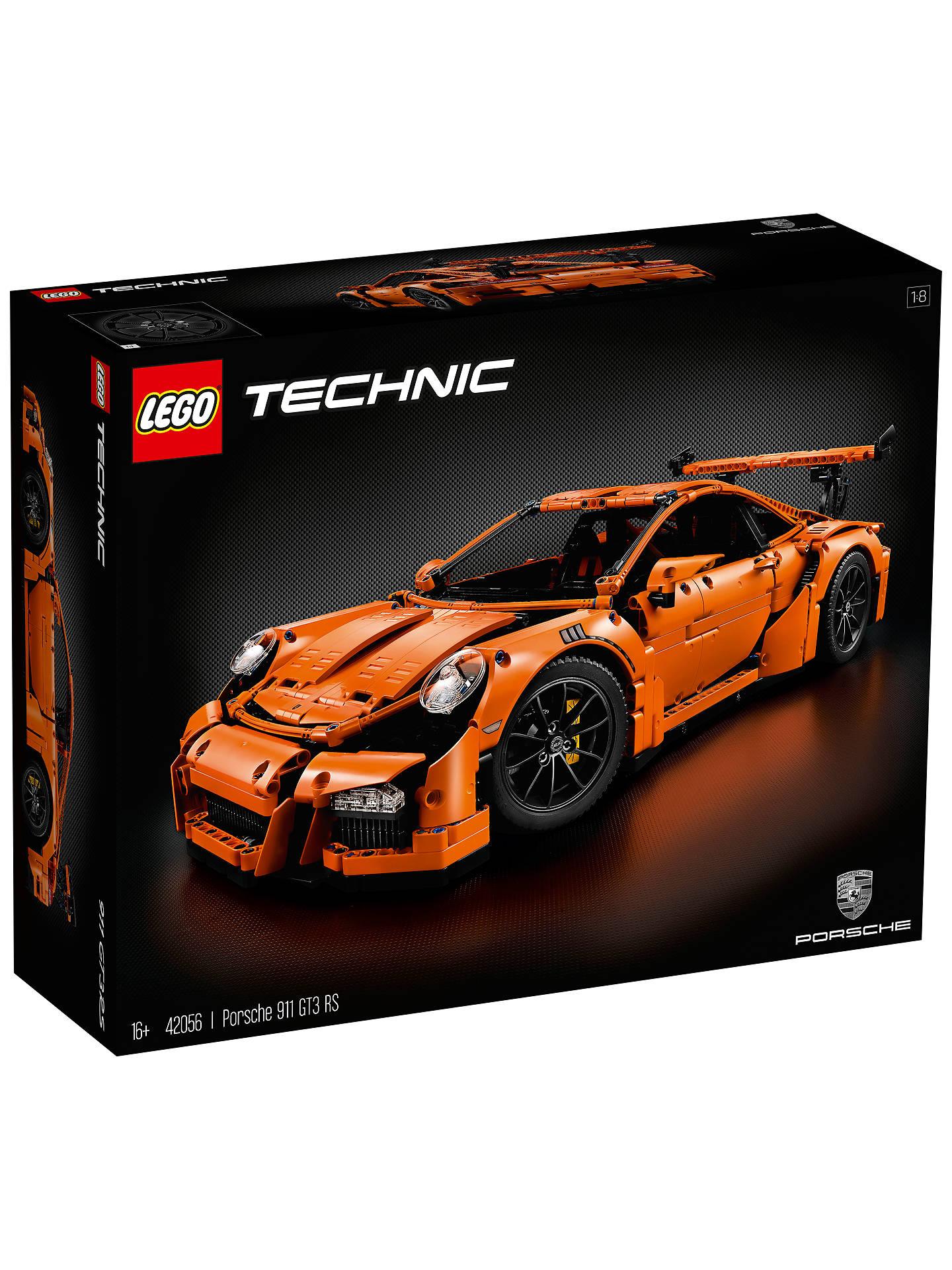 lego technic 42056 porsche 911 gt3 rs at john lewis partners. Black Bedroom Furniture Sets. Home Design Ideas
