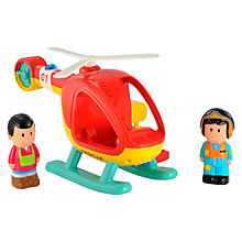 Buy Early Learning Centre Happyland Helicopter Online at johnlewis.com