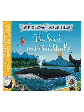 The Snail and The Whale Children's Book and CD