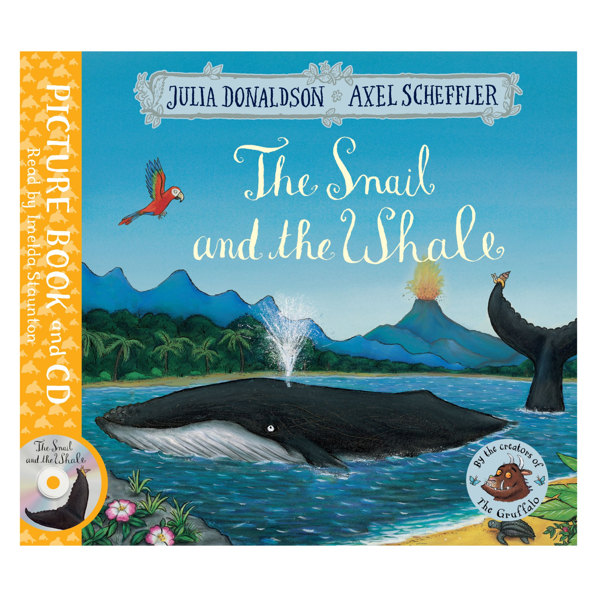 Macmillan The Snail and The Whale Children's Book and CD