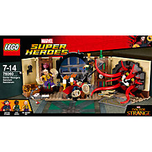 Buy LEGO Marvel Super Heroes 76060 Doctor Strange's Sanctum Sanctorum Online at johnlewis.com