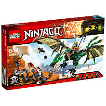 Buy LEGO Ninjago Green NRG Dragon Online at johnlewis.com