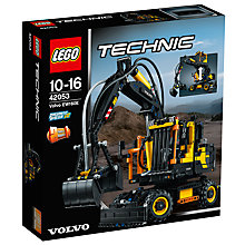 Buy LEGO Technic 42053 Volvo EW160E Online at johnlewis.com