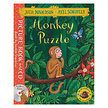 Buy Monkey Puzzle Children's Book & CD Online at johnlewis.com