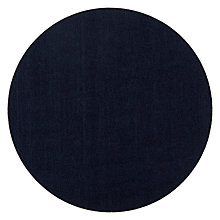 Buy House by John Lewis 30cm Felt Placemats, Set of 4, Navy Online at johnlewis.com
