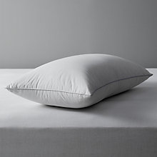 Buy John Lewis British Goose Down Standard Pillow, Medium / Firm Online at johnlewis.com