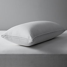 Buy John Lewis British Goose Down King Size Pillow, Medium/Firm Online at johnlewis.com