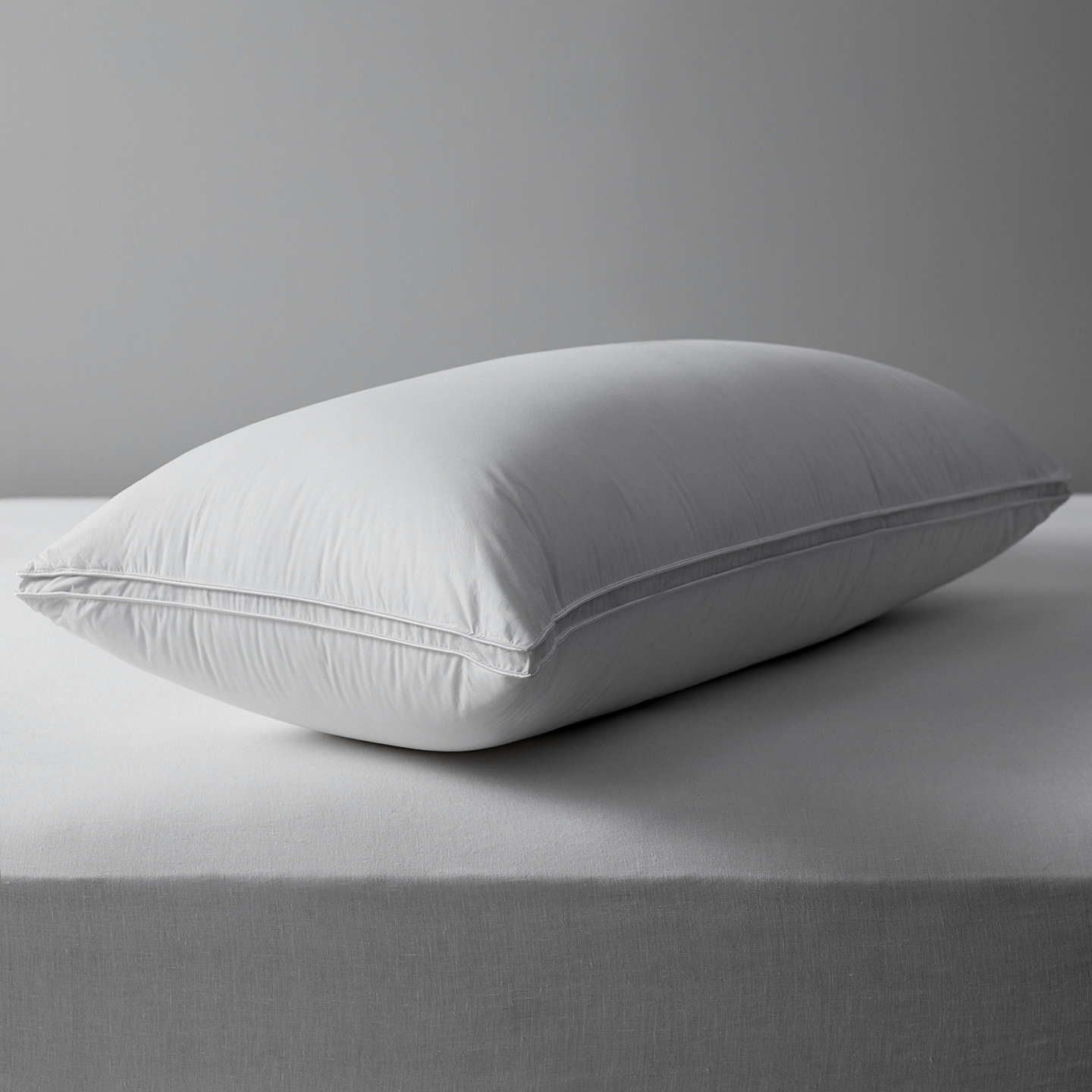 BuyJohn Lewis The Ultimate Collection British Goose Down Kingsize Pillow, Medium/Firm Online at johnlewis.com