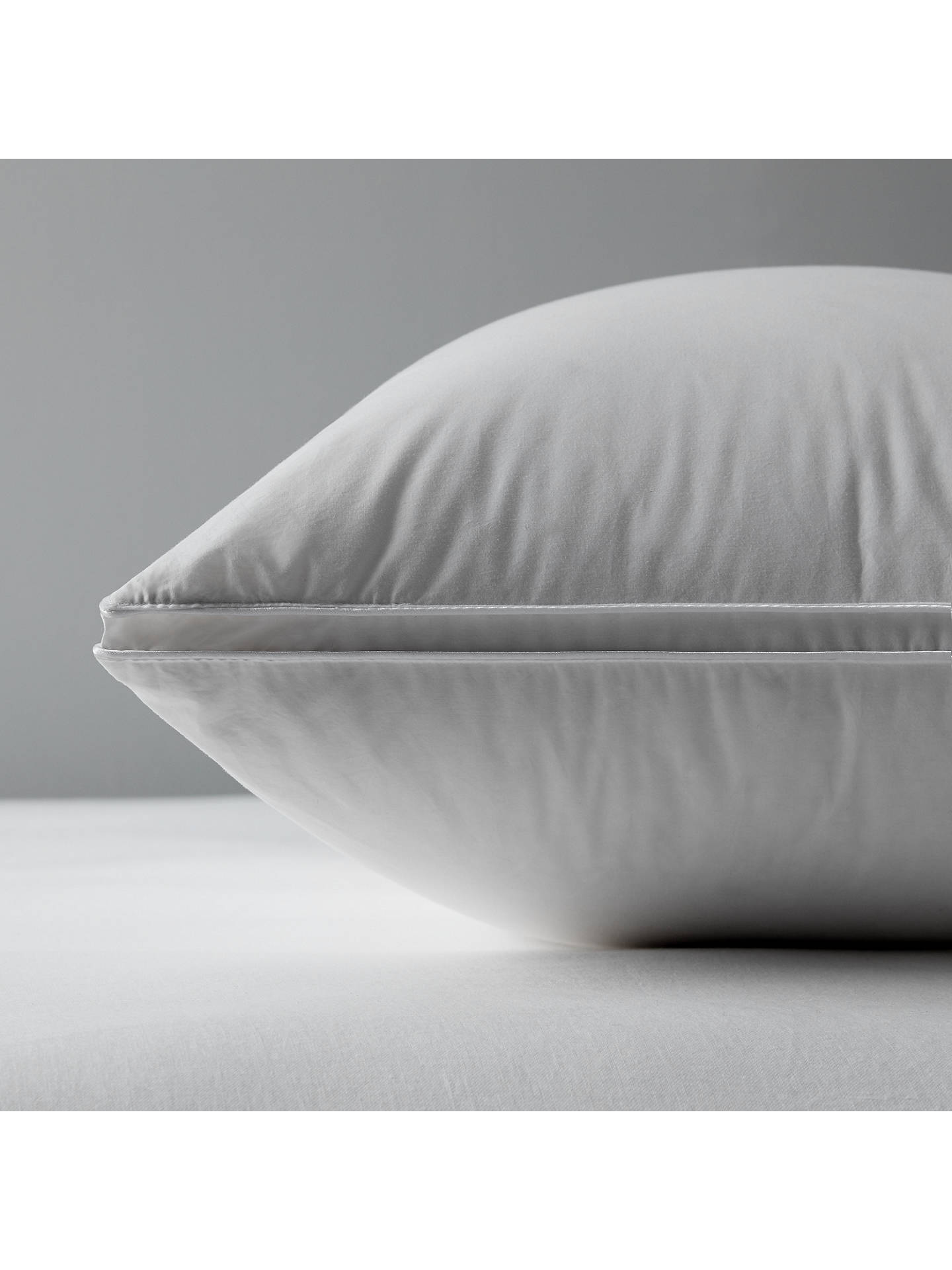 BuyJohn Lewis & Partners The Ultimate Collection British Goose Down Kingsize Pillow, Medium/Firm Online at johnlewis.com