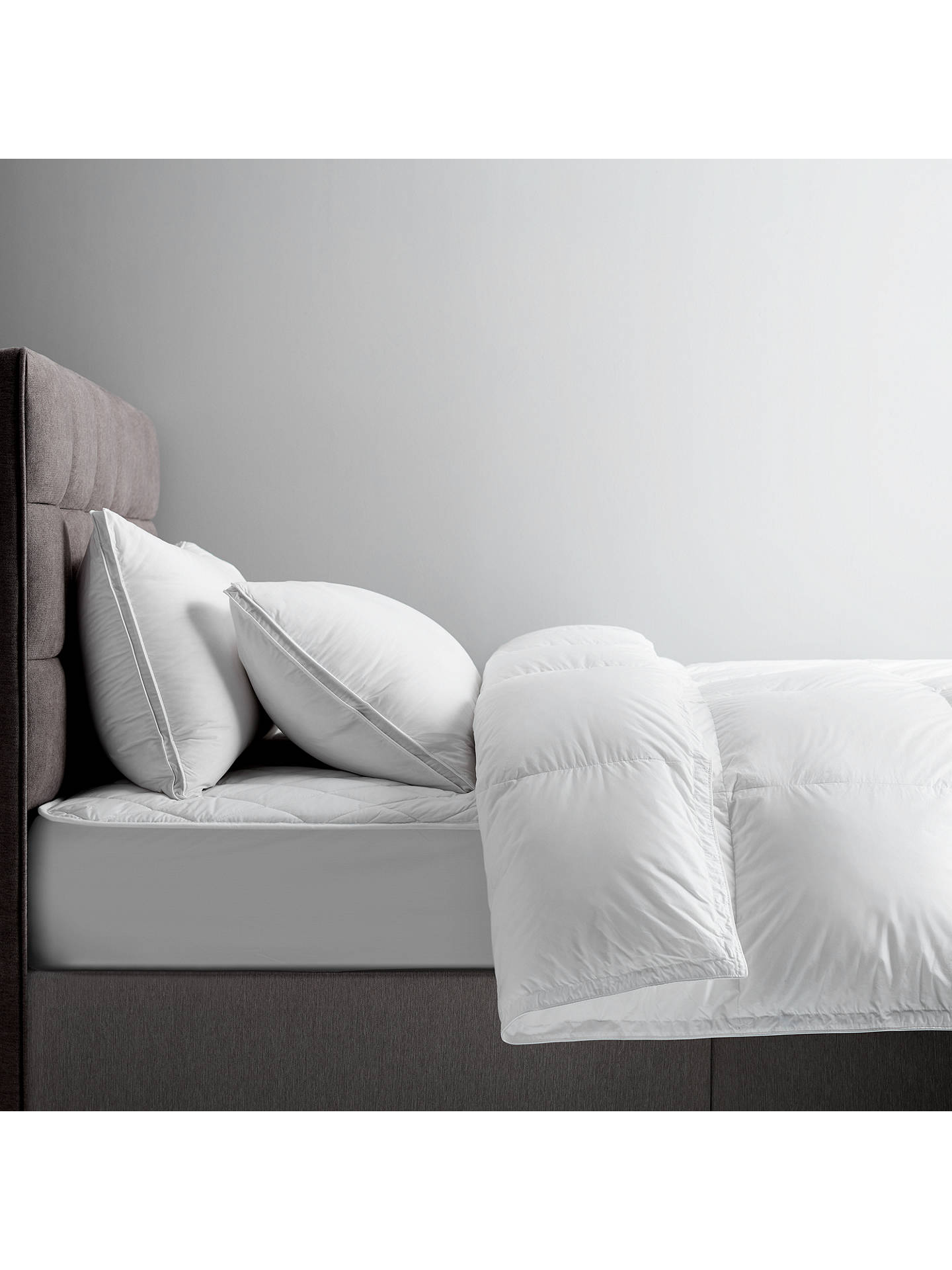 BuyJohn Lewis & Partners The Ultimate Collection British Goose Down Standard Pillow, Soft/Medium Online at johnlewis.com