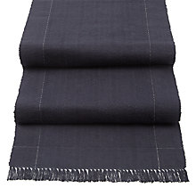 Buy John Lewis Croft Collection Startley Runner, Navy Online at johnlewis.com