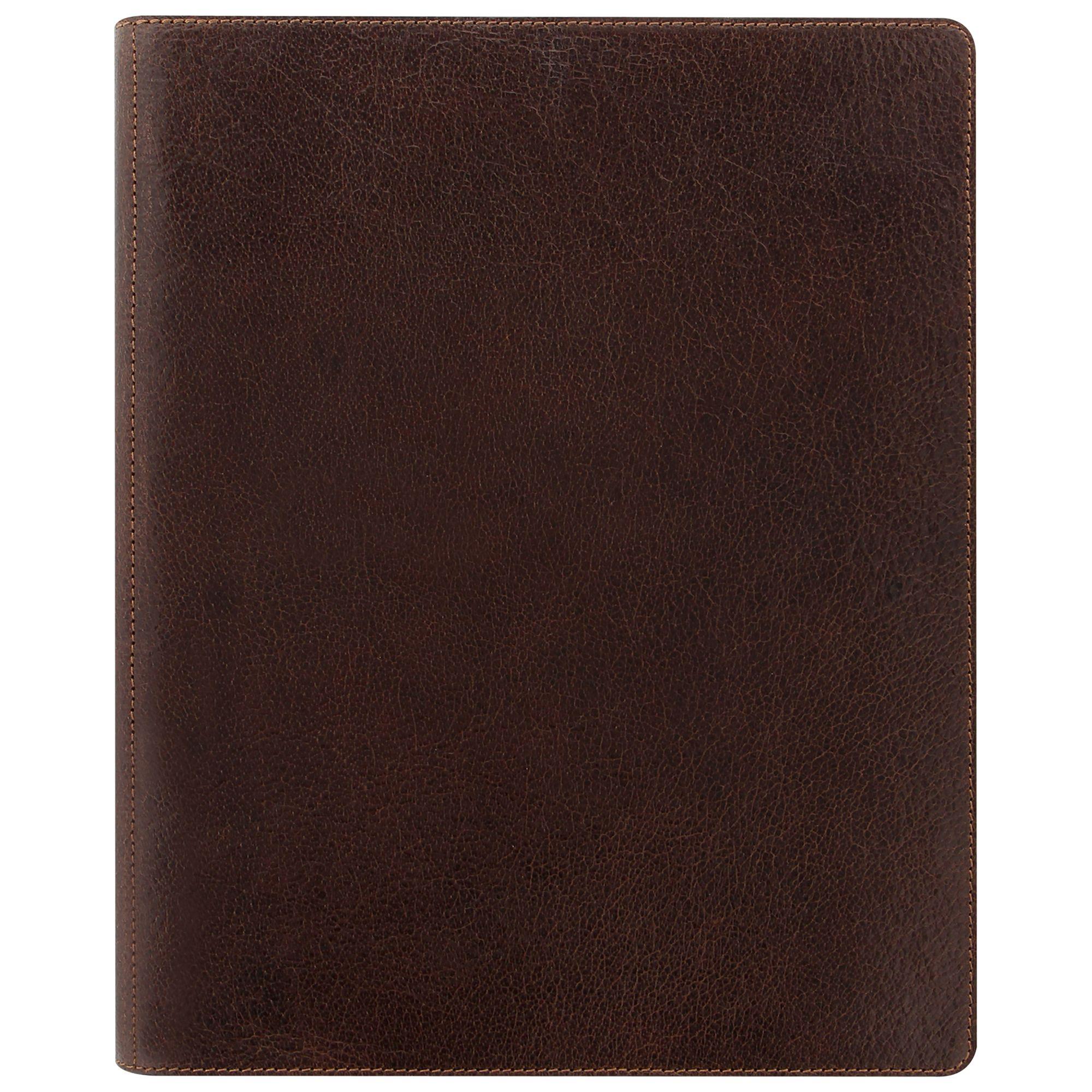 Filofax Filofax Heritage A5 Compact Organiser, Brown