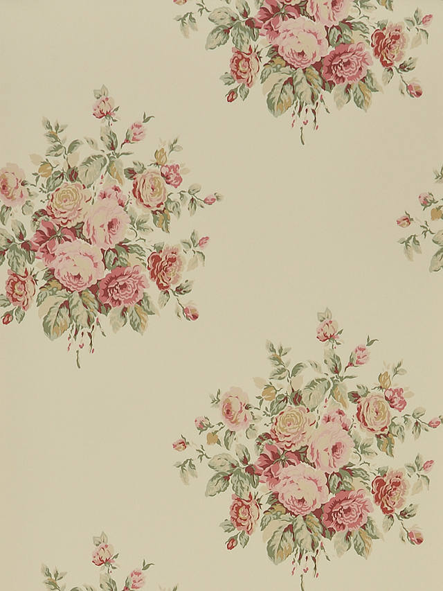Buy Ralph Lauren Wainscott Floral Wallpaper, Tea PRL707/06 Online at johnlewis.com