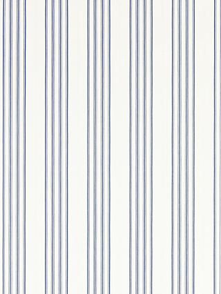 Ralph Lauren Palatine Stripe Wallpaper, Porcelain Blue, PRL050/05