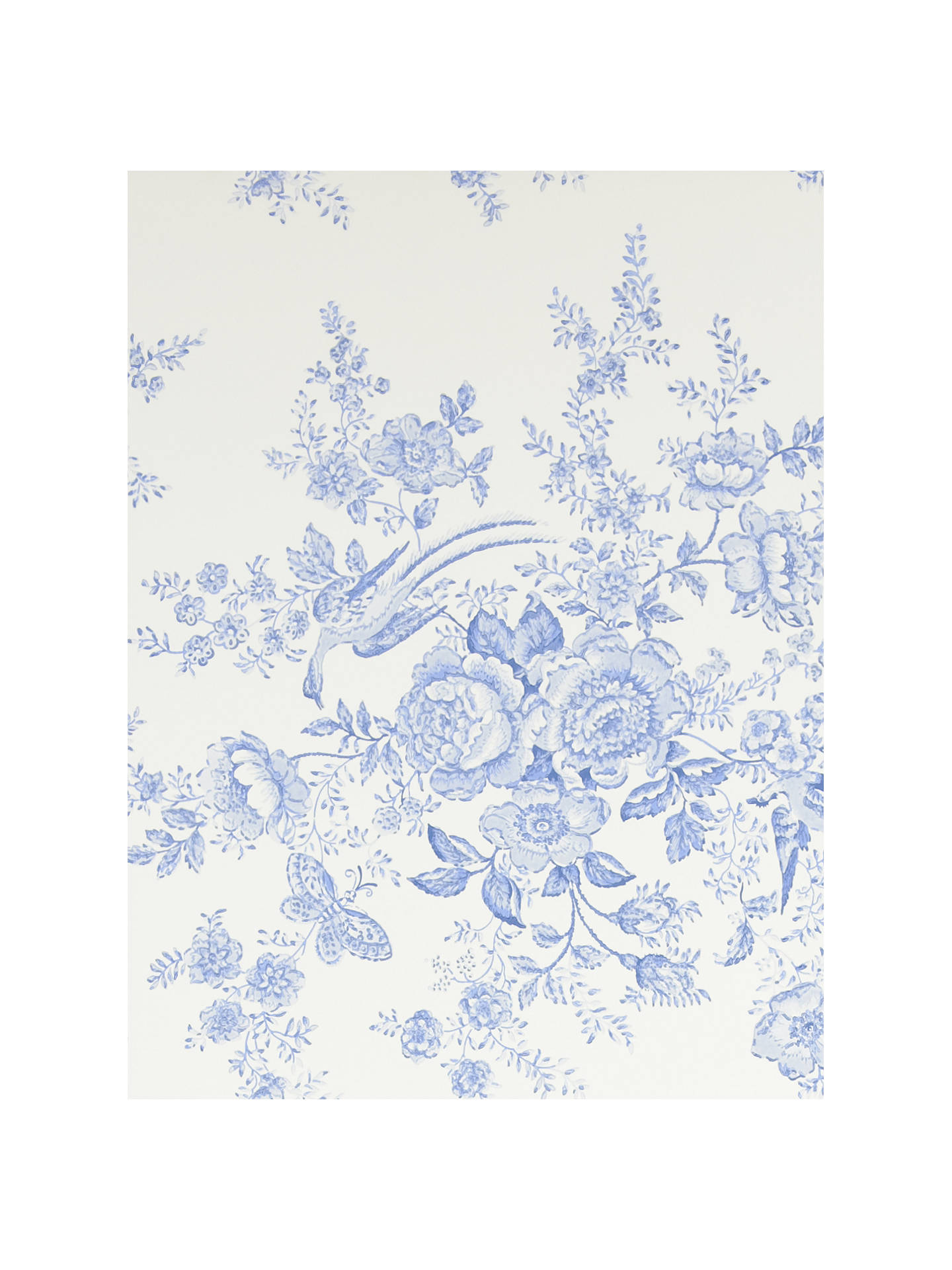 Buy Ralph Lauren Vintage Dauphine Wallpaper, Porcelain PRL028/03 Online at johnlewis.com