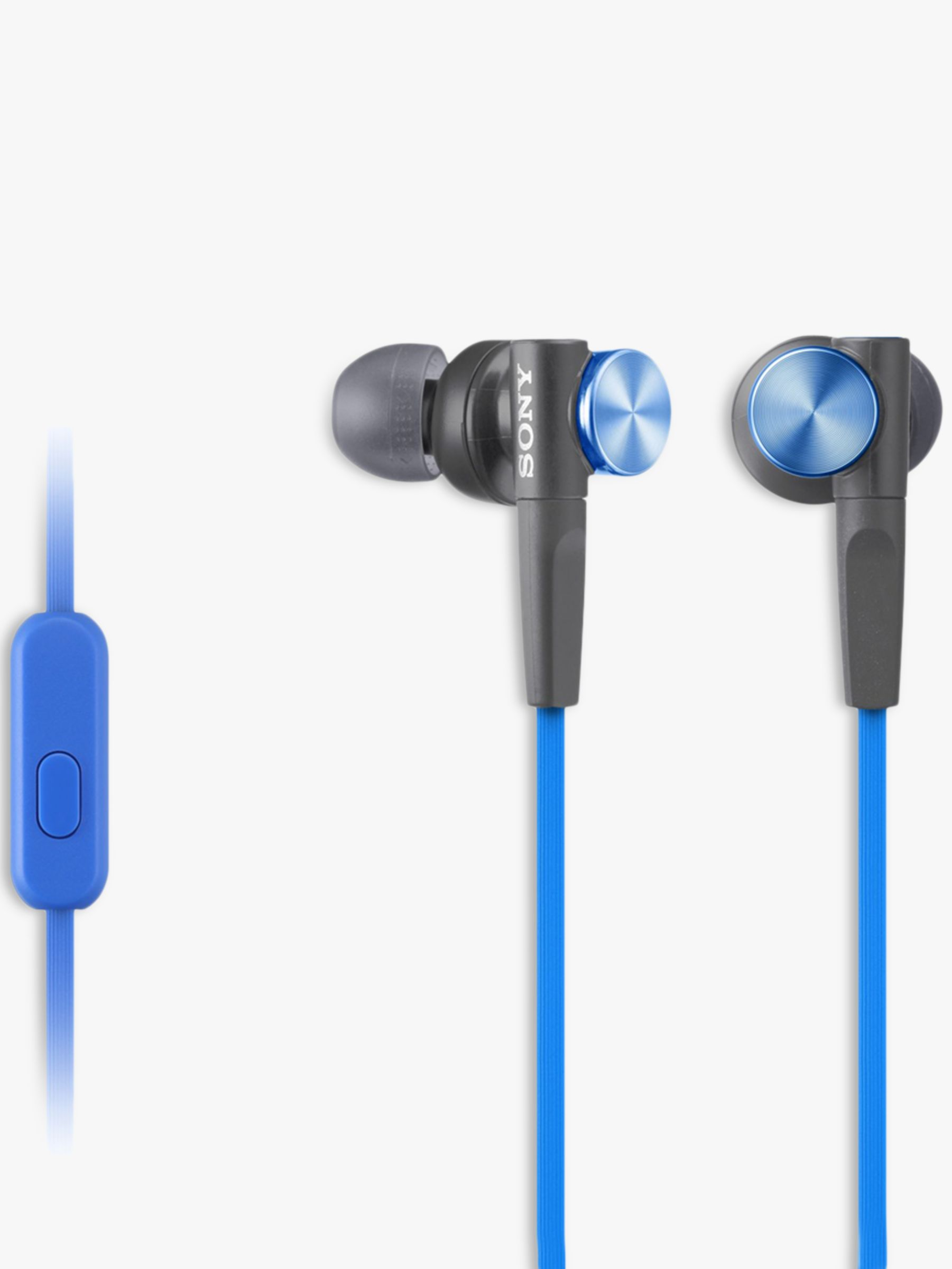 Sony Sony MDR-XB50AP Extra Bass In-Ear Headphones with In-Line Control