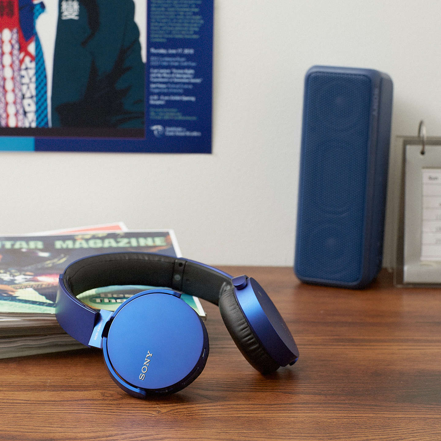 BuySony MDR-XB650BT Extra Bass On-Ear Headphones with Bluetooth, Blue Online at johnlewis.com