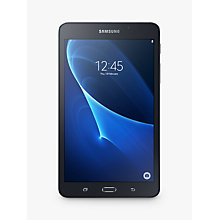 "Buy Samsung Galaxy Tab A Tablet, Quad-Core T-Shark 2A, Android, 7.0"", 8GB, Wi-Fi Online at johnlewis.com"