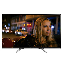 "Buy Panasonic 49DX600B LED 4K Ultra HD Smart TV, 49"" With Freeview Play, Built-In Wi-Fi & Art Of Interior Tailored Design Online at johnlewis.com"