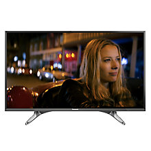 "Buy Panasonic 40DX600B LED 4K Ultra HD Smart TV, 40"" With Freeview Play, Built-In Wi-Fi & Art Of Interior Tailored Design Online at johnlewis.com"