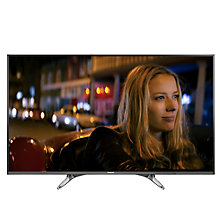 "Buy Panasonic Viera 55DX600B LED 4K Ultra HD Smart TV, 55"" With Freeview Play, Built-In Wi-Fi & Art Of Interior Tailored Design Online at johnlewis.com"