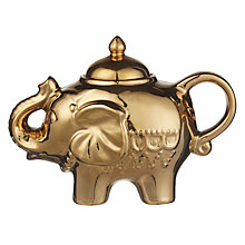 Buy Bia Elephant Sugar Bowl, Gold Online at johnlewis.com