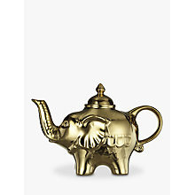 Buy Bia Elephant Teapot, Gold Online at johnlewis.com