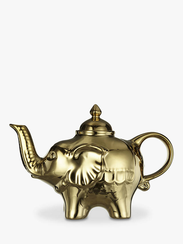 Buy BIA Elephant 4 Cup Teapot, Gold, 900ml Online at johnlewis.com
