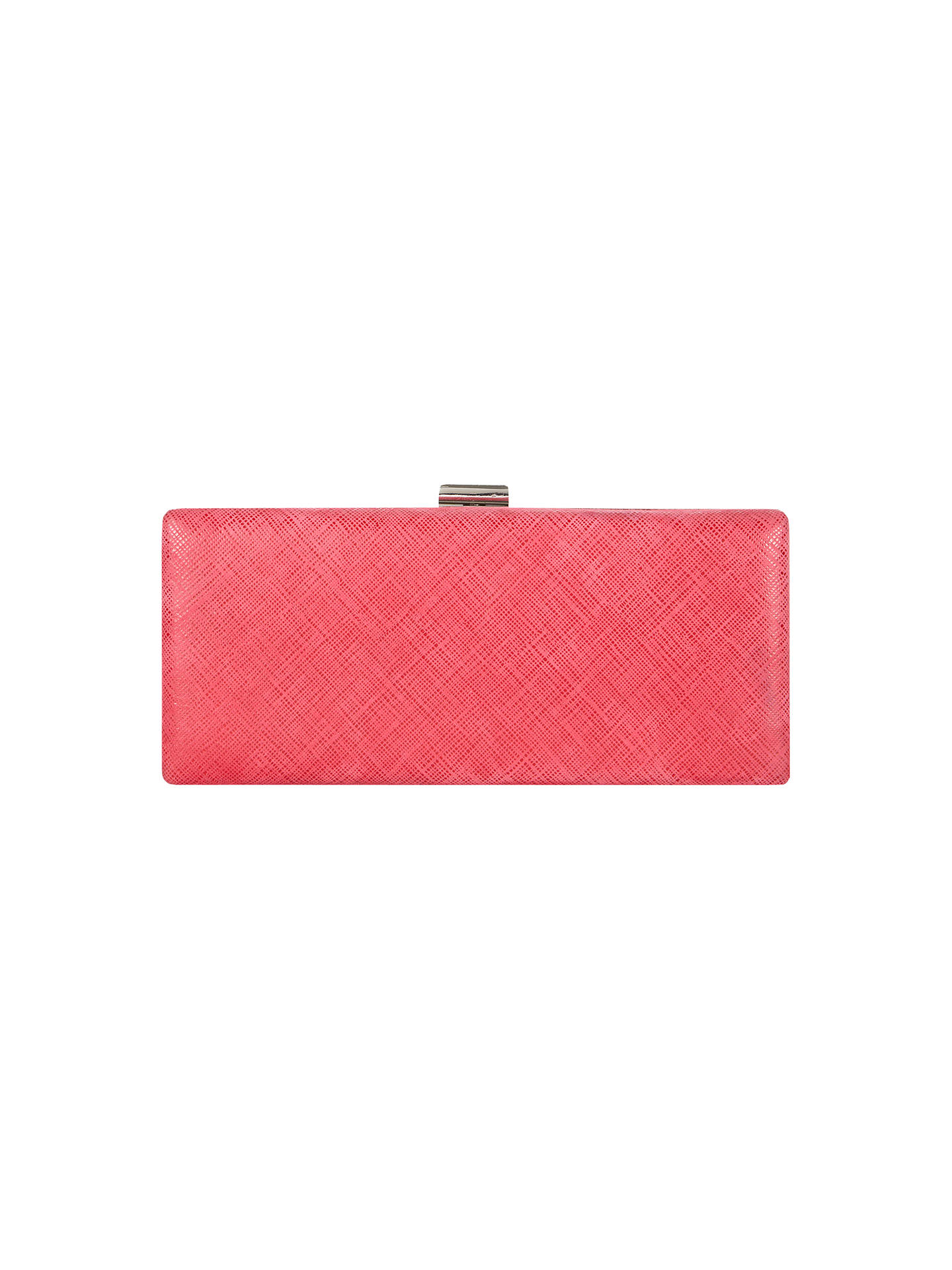Phase Eight Elle Clutch Bag Magenta Online At Johnlewis