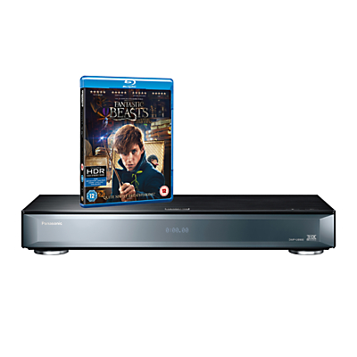 Panasonic DMP-UB900EBK Smart 4K UHD Blu-Ray/DVD Player with Built-in Wi-Fi, High Resolution Audio & Miracast, THX & Ultra HD Premium Certified