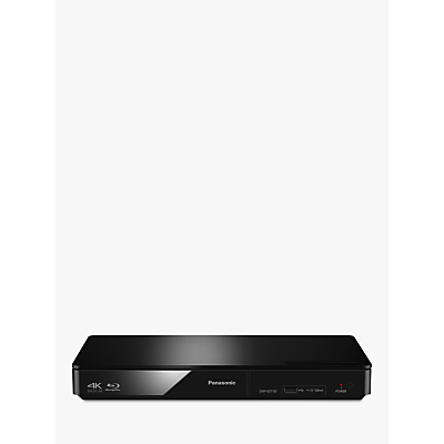 Panasonic DMP-BDT180EB Smart Network 3D 4K Upscaling Blu-Ray/DVD Player